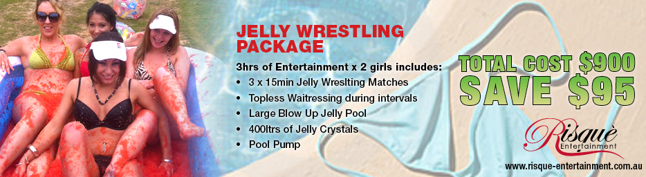 Jelly Wrestling Package