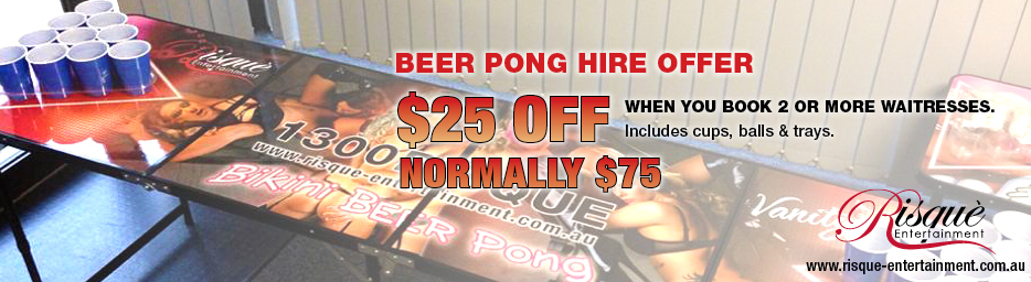 Beer Pong Hire Offer