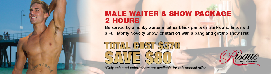 Male Waiter and Show